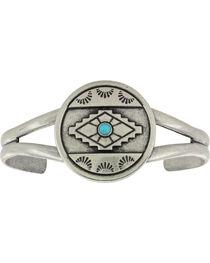 Montana Silversmiths Antiqued Aztec Eyes Cuff Attitude Bracelet, , hi-res