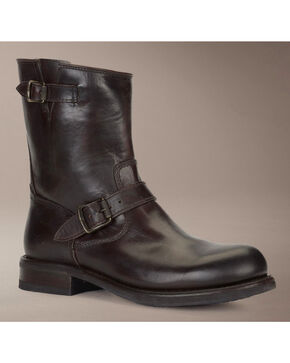 Frye Sutton Engineer Boots, Dark Brown, hi-res