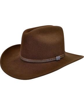 Wind River by Bailey Men's Wistar Brown Felt Hat, Brown, hi-res