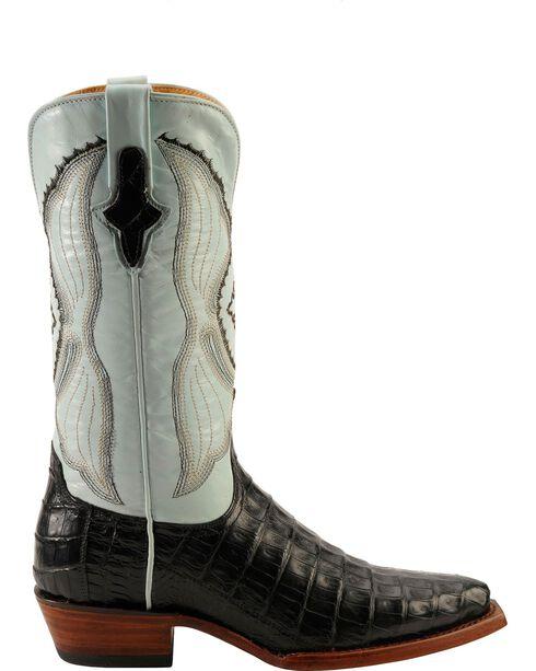 Ferrini Powder Blue Caiman Belly Cowgirl Boots - Snip Toe, , hi-res