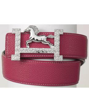 Ovation  Fashionista Belt, Pink, hi-res