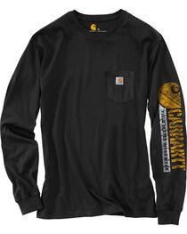 Carhartt Graphic Logo Long Sleeve Shirt - Tall, , hi-res