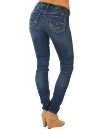 Silver Jeans Co. Women's Suki Mid Super Skinny Joga Jeans, , hi-res