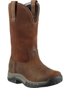 Ariat Womens Terrain H2O Work Boots, Distressed, hi-res