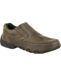 Roper Men's Country Cruisers Driving Moc Chukka Casual Shoes, , hi-res