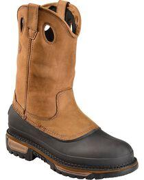 Georgia Men's Muddog Steel Toe Wellington Boots, , hi-res