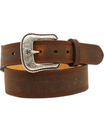 Ariat Basic Leather Belt, , hi-res