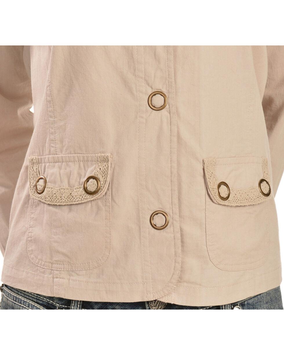 Tantrums Women's Crochet Snap Cotton Jacket, , hi-res
