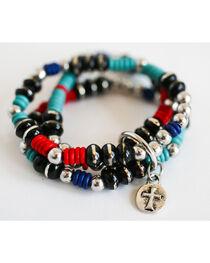 West & Co. Women's Multi-Colored Beaded Bracelet, , hi-res