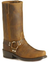 Double-H Men's Harness Motorcycle Boots, , hi-res