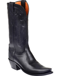 Lucchese Women's Grace Embossed Square Toe Western Boots, , hi-res