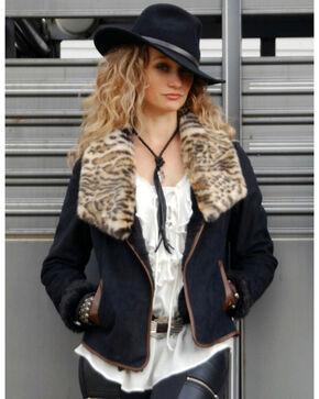 Tasha Polizzi Women's Folklore Jacket, Black, hi-res