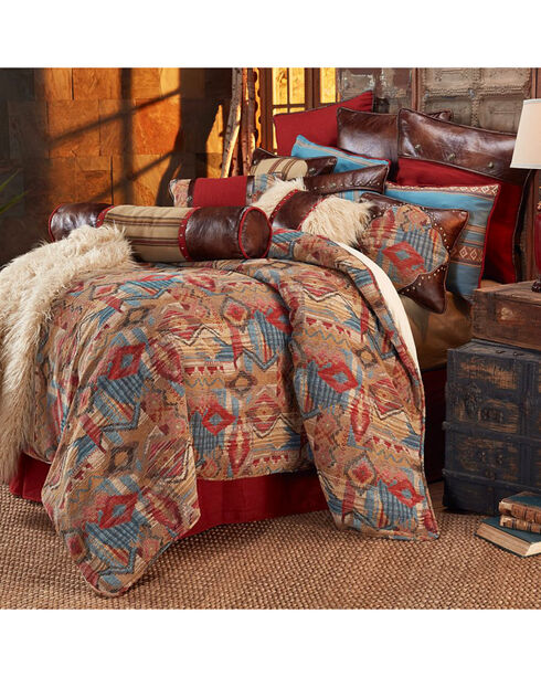 HiEnd Accents Ruidoso Twin 3-Piece Bedding Set, Multi, hi-res
