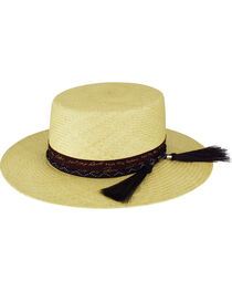 Bailey Men's Santee Bolero Crown Western Hat, , hi-res