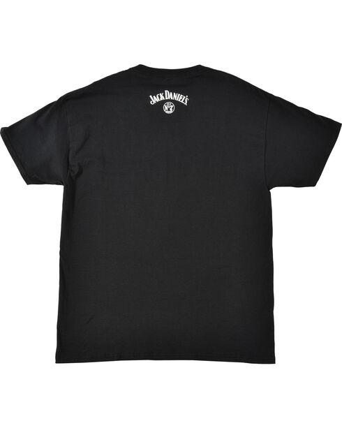 Jack Daniel's Men's Jack Lives Here T-Shirt, Black, hi-res
