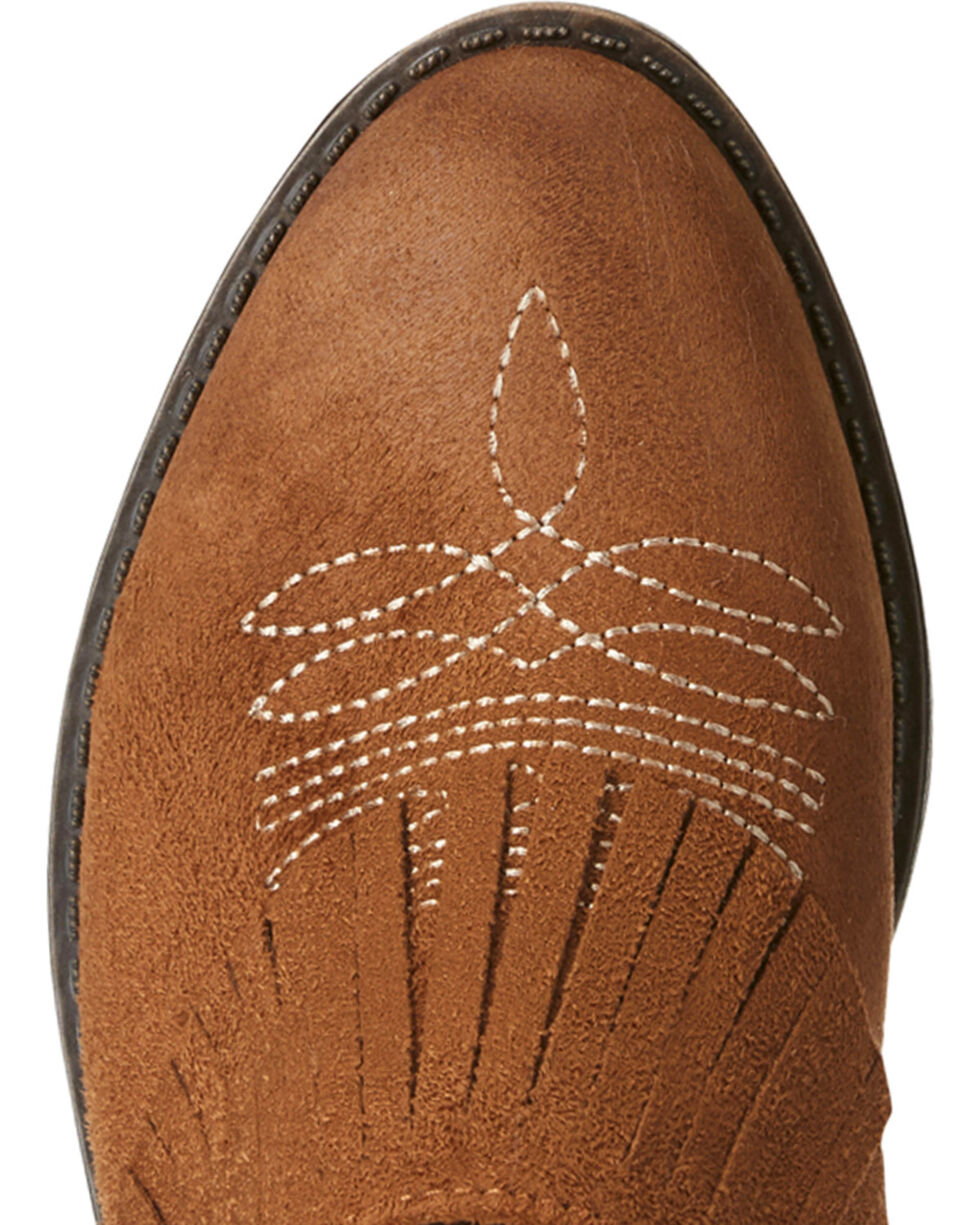 Ariat Women's Unbridled Shirley Brown Mules - Round Toe, Suntan, hi-res
