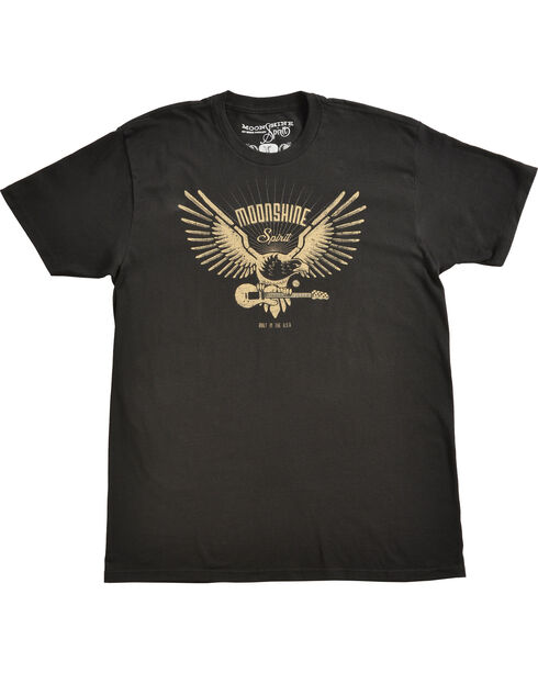 Moonshine Spirit® Men's Guitar Drive T-Shirt, Black, hi-res