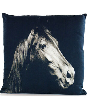 Gift Craft Horse Head Throw Pillow, No Color, hi-res