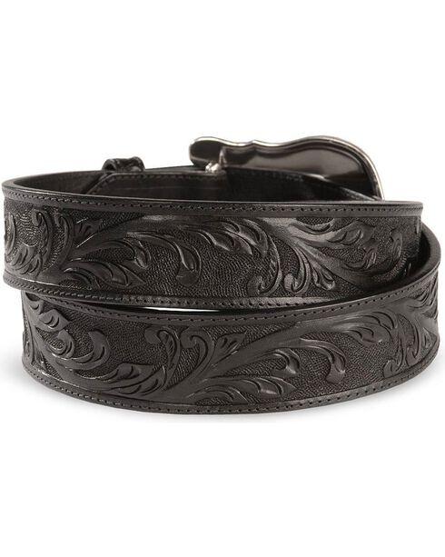 Tony Lama Men's Westerly Ride Belt, Black, hi-res