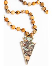 Jewelry Junkie Women's Bohemian Jasper Beaded Necklace , , hi-res