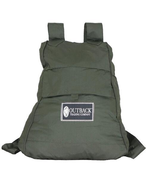 Outback Unisex Pak-A-Roo Duster Jacket, Olive, hi-res