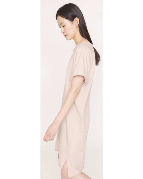 Friday's Project Women's Short Sleeve T-Shirt Dress, Dark Pink, hi-res