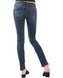 Silver Women's Elyse Rinse Wash Jeans - Straight Leg , , hi-res
