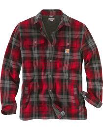Carhartt Men's Hubbard Sherpa-Lined Shirt Jacket, , hi-res