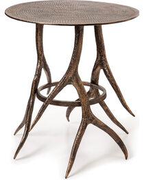 Big Sky Carvers Antler Cafe Table, , hi-res