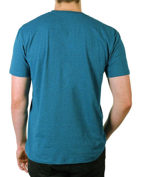 Cody James® Men's American Denim T-Shirt, Blue, hi-res