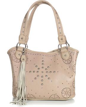 Shyanne Women's Snowflake Stud Handbag, Cream, hi-res