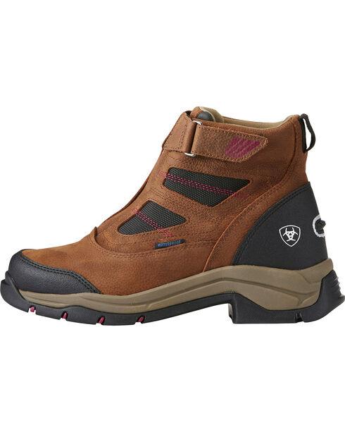 Ariat Women's Terrain Pro Zip H2O Brown Waterproof Boots - Round Toe, Brown, hi-res