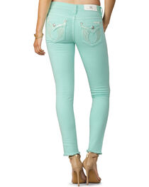 Miss Me Women's Mint Condition Mid-Rise Ankle Jeans - Skinny , , hi-res
