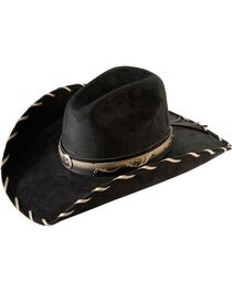 Bullhide Women's Straight Shooter Faux Felt Hat, , hi-res