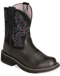 Ariat Women's Fatbaby II Western Boots, , hi-res
