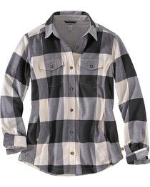 Carhartt Women's Natural Rugged Flex Hamilton Fleece Lined Shirt, , hi-res