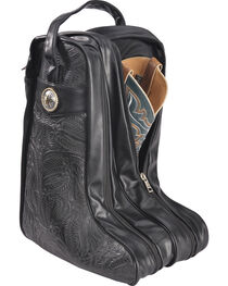 BB Ranch Black Boot Bag , , hi-res