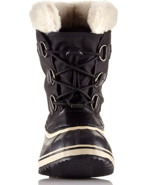 Sorel Boys' Yoot Pac Nylon Boots , Black, hi-res