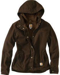 Carhartt Women's Sandstone Berkley Jacket, , hi-res