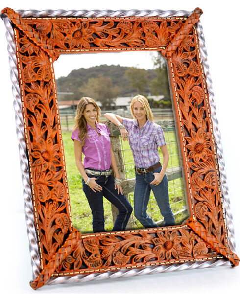 BB Ranch® Engraved Filigree Frame, No Color, hi-res
