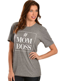"""ATX Mafia Gray """"#MOM BOSS"""" Tee, , hi-res"""