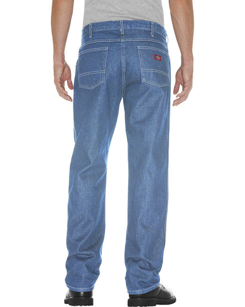 Dickies Men's 5-Pocket Relaxed Fit Jeans , Light Stone, hi-res