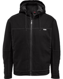 Wolverine Men's Porter Sherpa Hooded Jacket, Black, hi-res