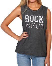 I.O.C. Women's Rock Royalty Graphic Muscle Tank, , hi-res