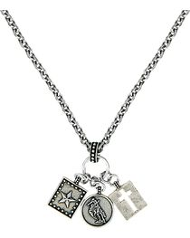 Montana Silversmiths Women's Charm Necklace, , hi-res