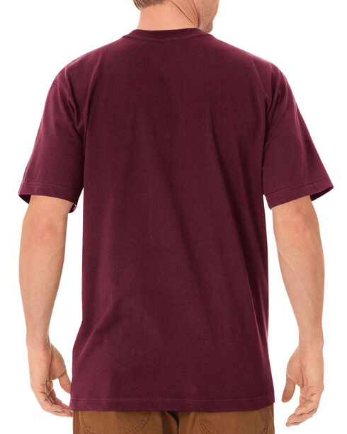 Dickies Heavyweight T-Shirt - Big & Tall, Burgundy, hi-res