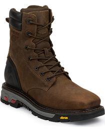 Justin Men's Commander X5 Lace-Up Waterproof Boots, , hi-res