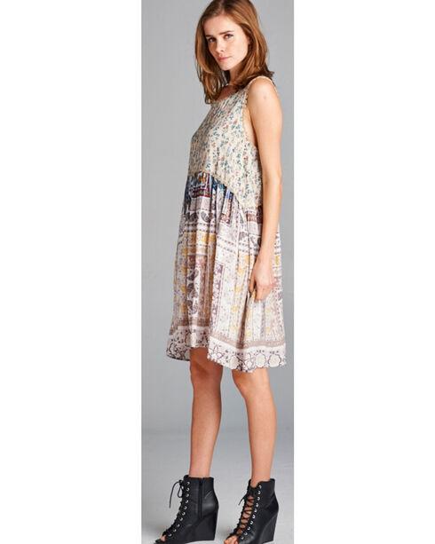 Hyku Women's Sleeveless Hi-Lo Dress, White, hi-res