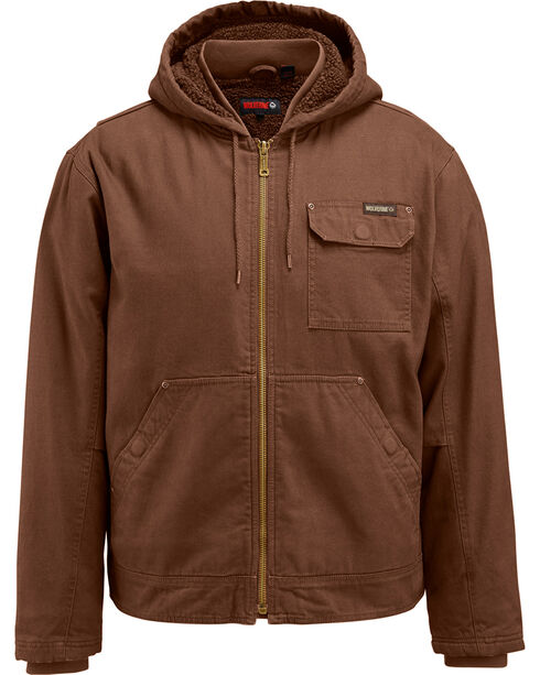 Wolverine Men's Dark Brown Insulated Ironwood Jacket, , hi-res