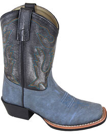 Smoky Mountain Youth Boys' Gallup Leather Western Boots - Square Toe, , hi-res
